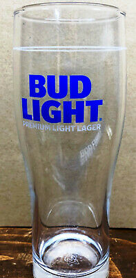 Bud Light Essential Beer Glass, 16oz NEW