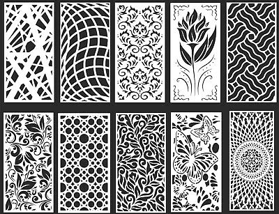 DXF-CDR of PLASMA LASER & ROUTER Cut -CNC BEST 10 PANEL ITEMS
