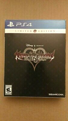 New Kingdom Hearts 2.8 Limited Edition PS4 Open Box Read Box Read Description