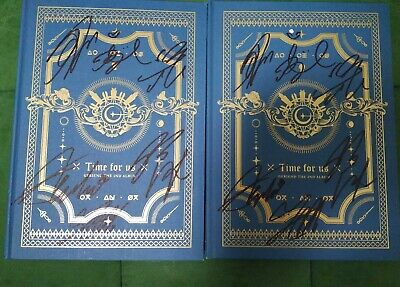 hand signed GFRIEND autographed album TIME FOR US  /autograph+signed photo K-POP