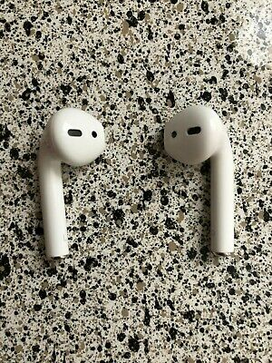 Used Original Authentic Apple AirPods White MMEF2AM/A Genuine