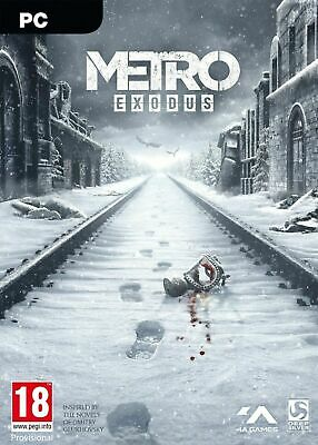Metro Exodus - Pc - Completo Italiano Originale - Epic Games