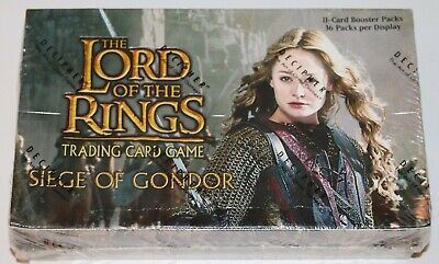 Lord of the Rings TCG, Siege of Gondor Booster Box 36-Packs SEALED NEW