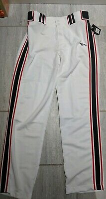 aa69a062a45d BOOMBAH SOFTBALL Pants White Blue Red Size 32x24 NPF - $19.95 | PicClick