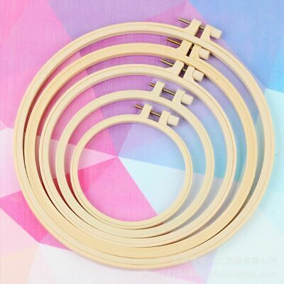 Plastic Cross Stitch Machine Embroidery Hoop Ring Sewing Craft DIY 9.5-32cm