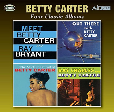 Betty Carter-Four Classic Albums (Meet Betty Carter And Ray Bry Cd New