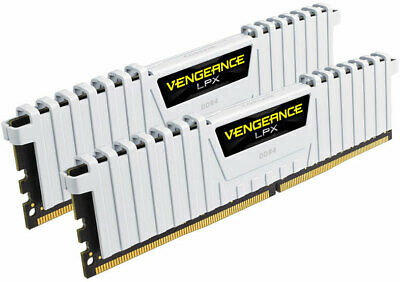 Corsair Vengeance LPX 16GB (2x8GB) DDR4 3200MHz C16 Desktop Gaming Memory White