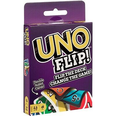 Uno Flip! (Double Sided Card Game) BRAND NEW & IN STOCK from the makers of UNO