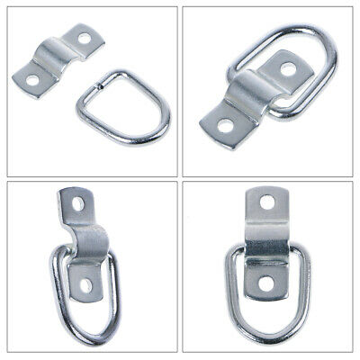 8Pcs Tie Down D Ring Load Anchor Forged Lashing Ring 9600 Pound Capacity New
