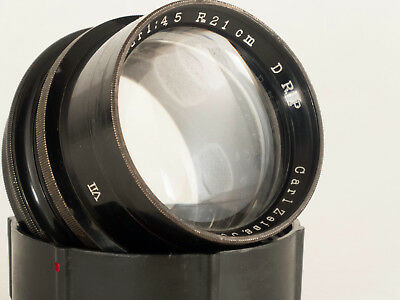 LARGE FORMAT CARL ZEISS JENA TESSAR 210mm F4.5 VII S.N.236979