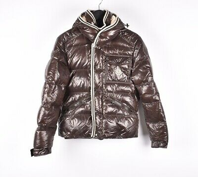 d1f110aa1 MONCLER BRANSON DOWN Hooded Men Puffer Jacket Size 1 Fits S or M