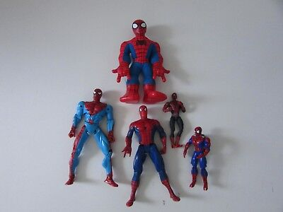Bulk Sale Spider-Man Action Figures - Five