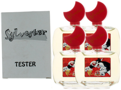 Sylvester By Looney Tunes For Kids Combo Pack: EDT Spray 13.6oz (4x3.4oz) Tester