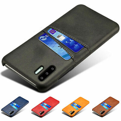 For Huawei P30 Pro P20 Lite Pro Wallet Credit Card Slot Leather Case Back Cover