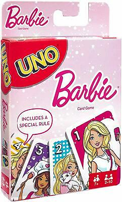 UNO Barbie Card Game BRAND NEW & 'IN STOCK'