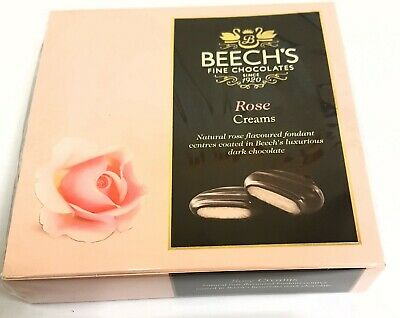 Beech`s Dark Chocolate Rose Creams 90gm box (Pack of 3 boxes)