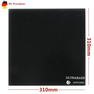 EU ANYCUBIC Ultrabase 310x310mm Heated glass plate pour MK2/MK3 imprimante 3D