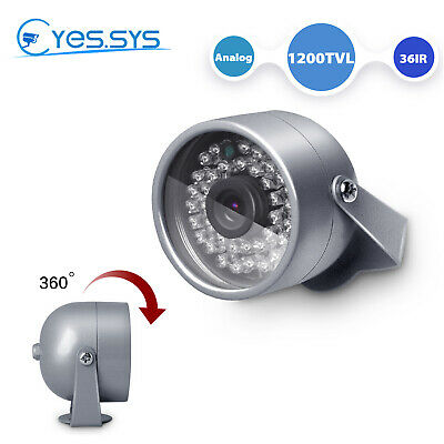1 x Vandal-Proof  Armor Dome Housing V27 C7036 Silent Witness 3.6mm Color Camera