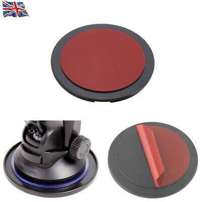 1 pcs Car GPS Dashboard Sticky Mount Adhesive Disc Dash Board Pad Suction Black