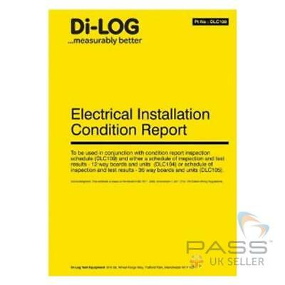 *SALE* DiLog DLC108 Electrical Installation Condition Report