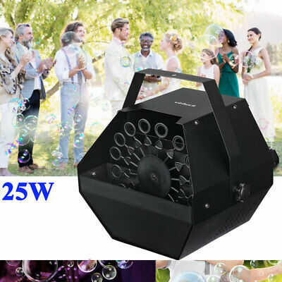 25W Electric Bubble Blower Machine Automatic Bubble Maker Indoor Outdoor Party