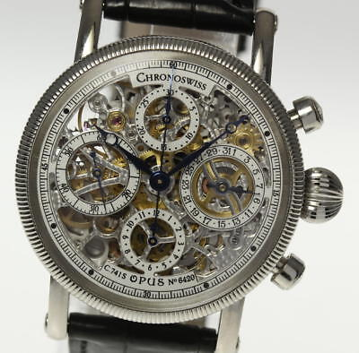 CHRONOSWISS Opus Skeleton dial CH7523 Automatic Men's Watch_451032