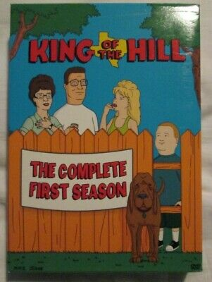 King of the Hill : The Complete First Season (DVD - 2003) 3-DVD set