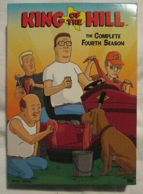 King of the Hill : The Complete Fourth Season (DVD - 2005) 3-DVD set