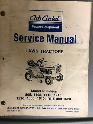 1620 Cub Cadet Schematic - Wiring Diagrams Place