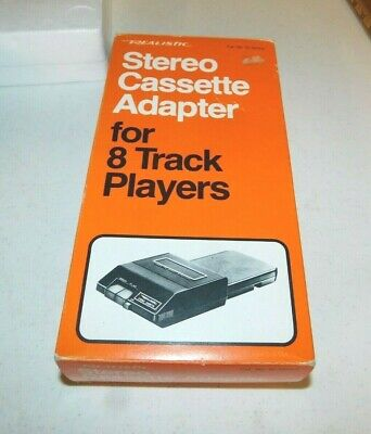 Realistic Stereo Cassette Adapter For 8 Track Players Model 1A0