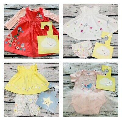 Girls Newborn Tiny Baby First Size Month Make Your Own Bundle Pre Loved and New