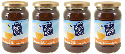 Independent Thick-Cut Orange Marmalade 4x454g Jars **Best Before End Oct 2019**