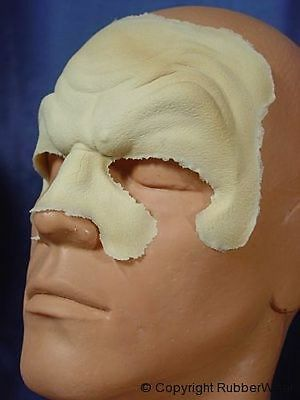 Rubber Wear Foam Latex Prosthetic Appliances Brow Nose Ears Cheeks Chin Eye