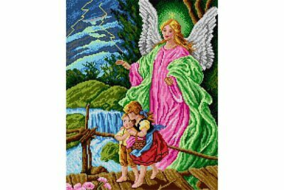 TAPESTRY CANVAS Guardian Angel 40X50cm 1789M