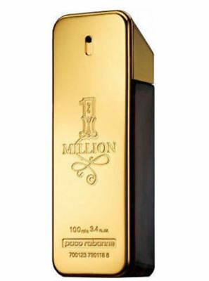 ONE MILLION Perfume BY PACO RABANNE For Men 100 ML EDT 3.4 Oz Spray tester