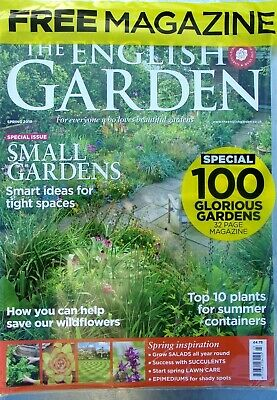 The English Garden Magazine Spring 2019 With Free 100 Glorius Gardens Mag ~ New
