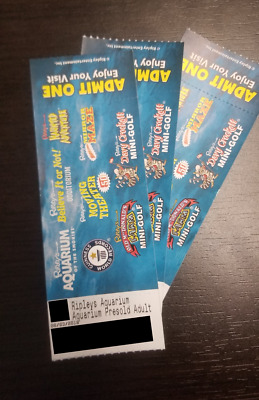 Ripley's Aquarium of the Smokies ADULT TICKET