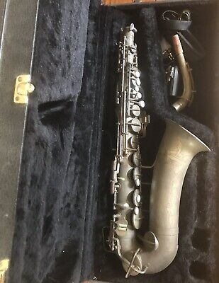1949 N.Y.C. Board of Education TOPPER Saxophone Vintage Made in USA