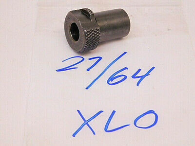 Used Xlo Aircraft Machinist Slip Fixed Renewable Drill Bushing 27/64 (.4219)