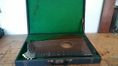 Cetra Da Tavolo Alte Zither 36 Strings Salterio Antico Con Custodia