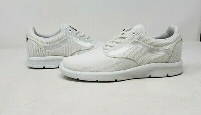 71d3c3bed3 Vans Iso 1.5 Mesh Vn0A2Z5Sisy True White Athletic Sneakers Mens Us Size 3.5  Wob