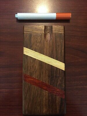 "Handmade 4"" Wooden Dugout W/ 3"" Aluminum Bat Fast, Friendly, Florida Shipper✌🍊"