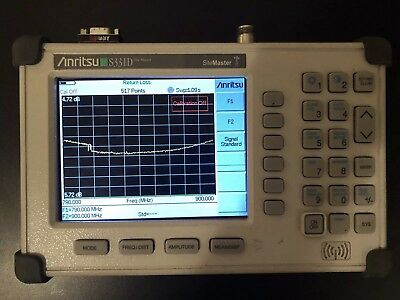 "Anritsu Site Master S331D Cable/Antenna Analyzer Color Screen!! ""READ"""
