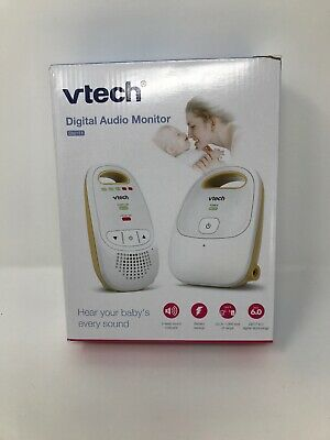 Vtech Safe & Sound Digital Audio Baby Monitor w/ One Parent Unit DM111 White NEW