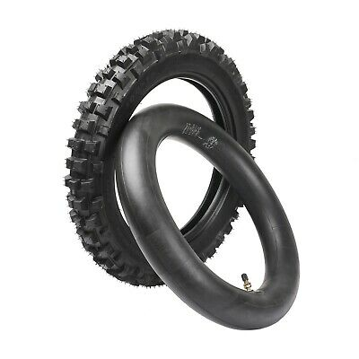 3.00-12  80/100-12 Rear Tire & Inner Tube f Dirt Pit Bike CRF50 SSR SDG Atomik