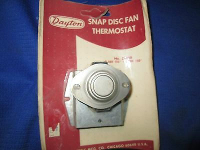 Dayton Snap Disc Limit Thermostat 2E249 close150 open at 130 degrees surplus