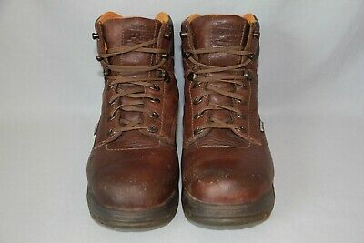 261f04a1484 MEN'S TIMBERLAND PRO 6'' Titan Safety Toe Work Boots Size 9M (475)