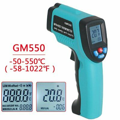 Infrared Thermometer Digital Display Electronic Thermometer FG#