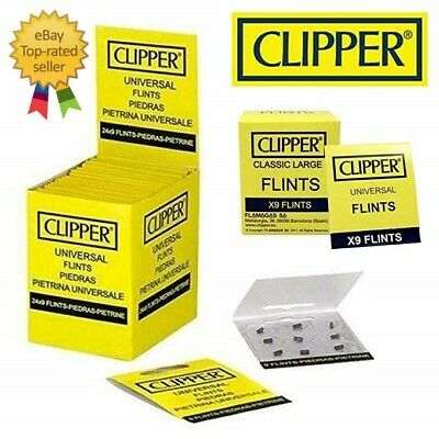 CLIPPER Lighter Flint Universal Suitable Flint Fit For All Types Lighters Packs