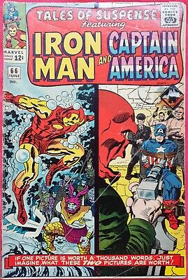 Tales of Suspense 66 1965 First appearance of Iron Man Armor MK IV